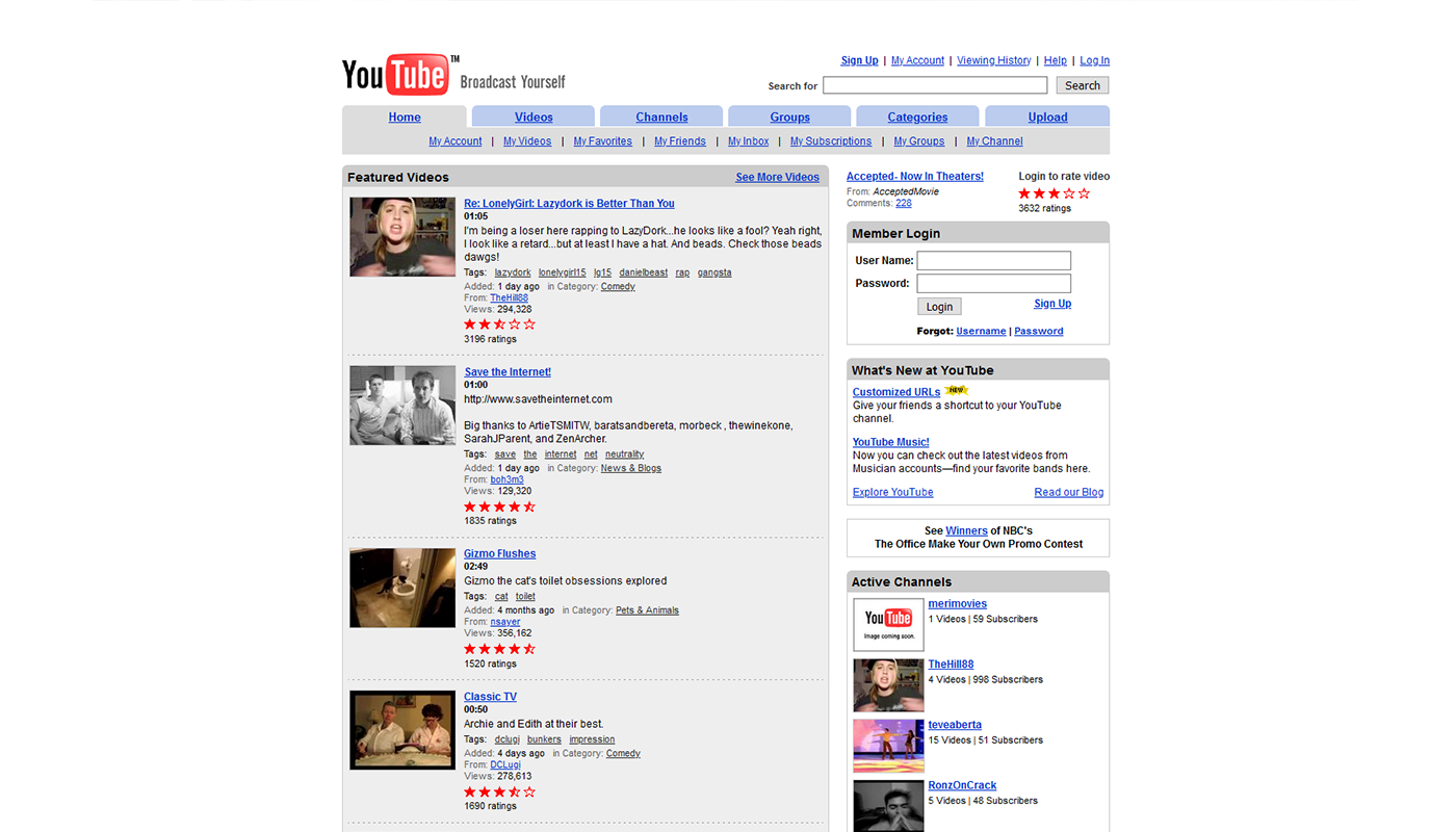 Youtube niet internet artikel